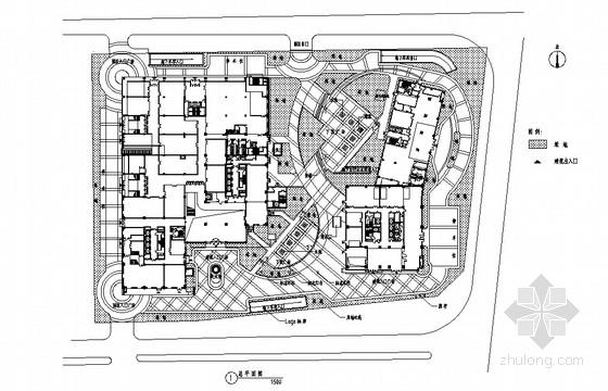 [北京]高档住宅景观设计施工图
