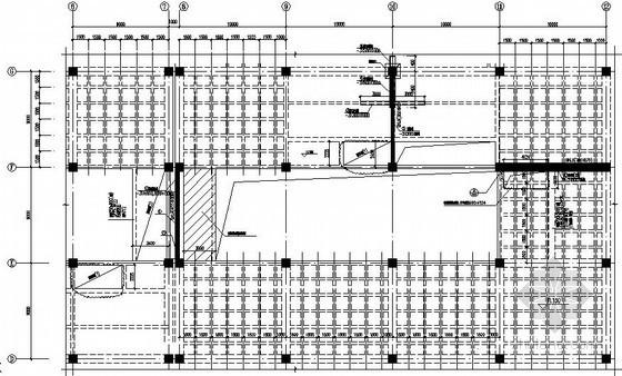 原结构新增观光电梯加固施工图