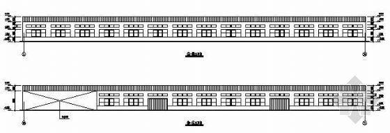 某单层钢结构厂房建筑结构全套图纸