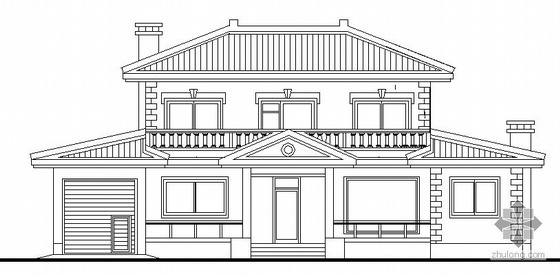 [延吉市衣兰镇]某二层小面积别墅式住宅建筑结构施工图