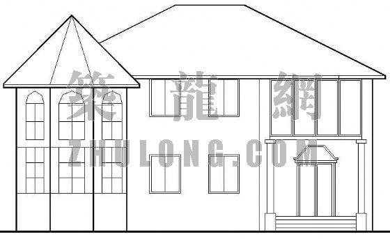 一套全套的别墅建筑结构施工图