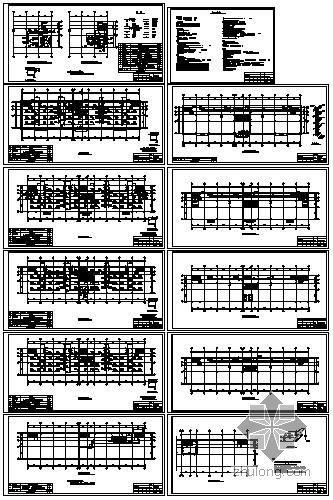 中型商场空调施工全套图