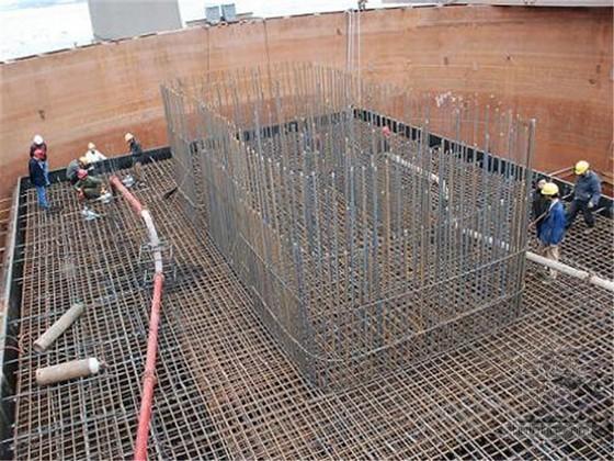大体积承台施工方案(SMW工法桩支护)