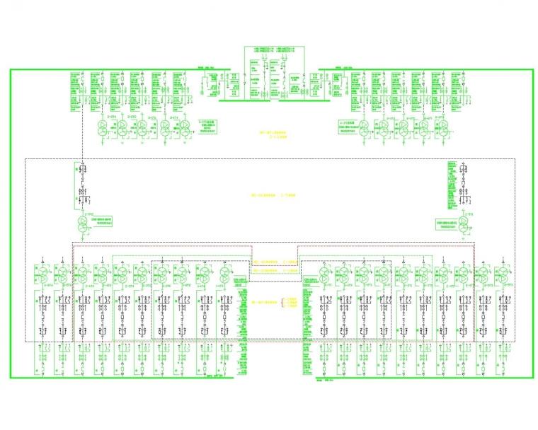 [天津]中钢国际广场商业酒店综合体电气施工图