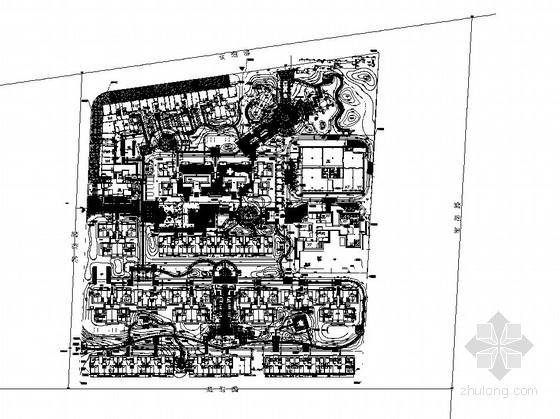 [厦门]居住区园林景观工程施工图全套
