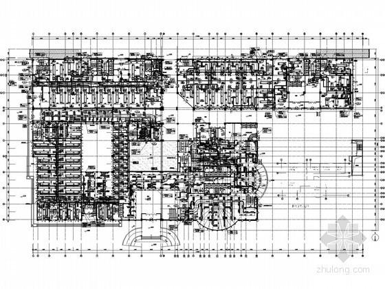 [鄂尔多斯]城市综合体空调通风设计施工图(含负荷设计表)