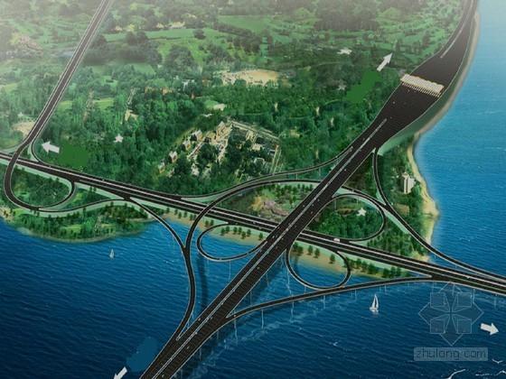 [山东]组合式互通跨海大桥实施性施工组织设计121页(支架现浇 钢板桩围堰)