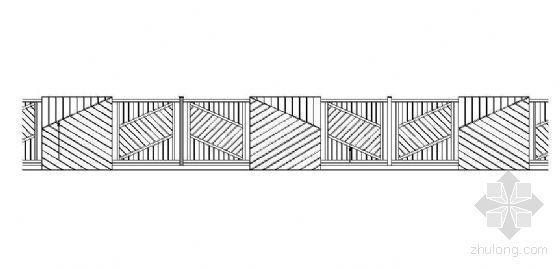 铁艺围墙施工图