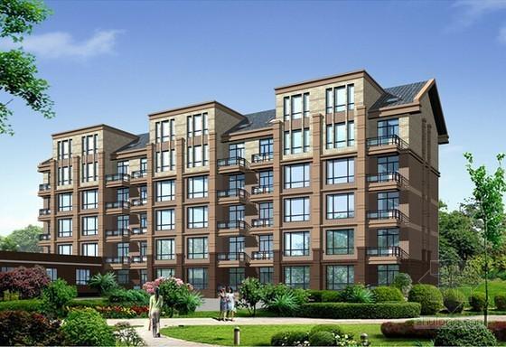 [河南]4栋住宅楼建筑工程预算书(广联达软件实例)