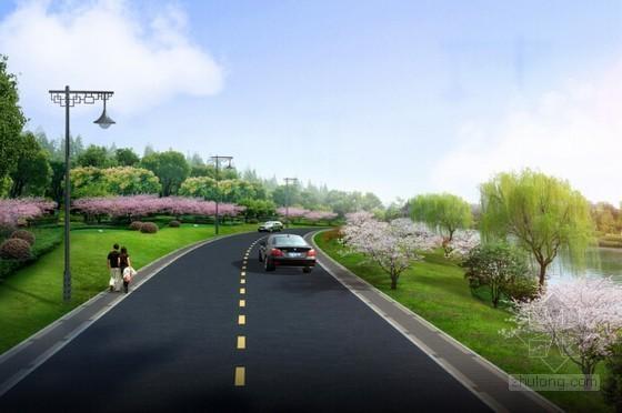 [广东]2015年道路基础设施建设工程量清单计价实例(含全套图纸)