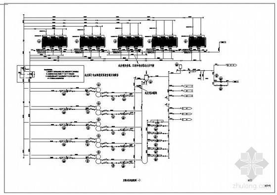 电子厂空调水系统流程图