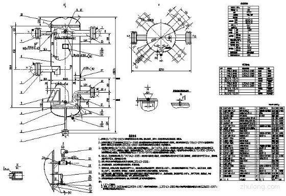 氨液分离器-LDAFA80装配图