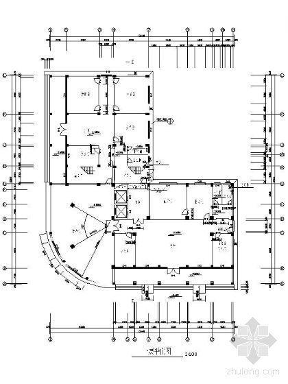 某教育局綜合樓全套裝修平立面圖