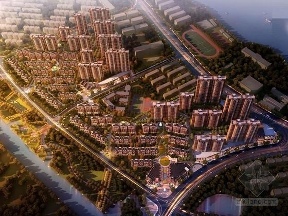 [江西]大型住宅区规划及单体设计方案文本