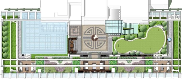 深圳振业大厦屋顶花园