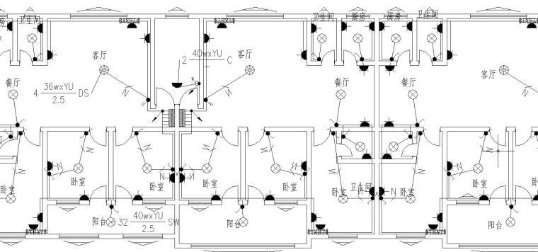 某商住楼电气施工图