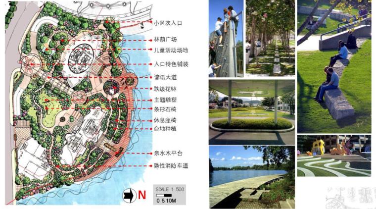 天津高层住宅去景观规划设计方案