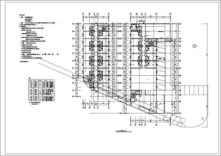 资源郎东大酒店设计(建筑方案CAD)