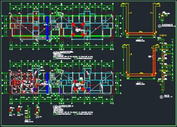 18层纯剪力墙结构住宅(计算书、施组、施工图)