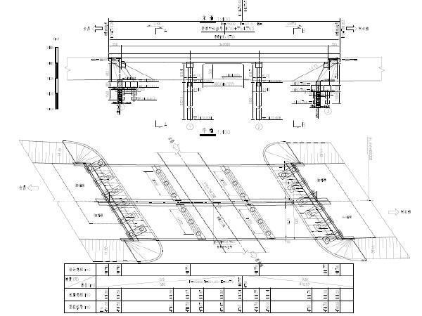 简支变连续小箱梁桥型布置图