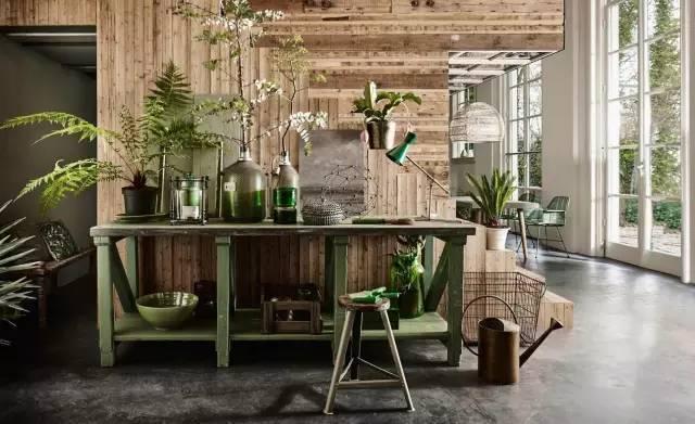绿植与木元素住宅