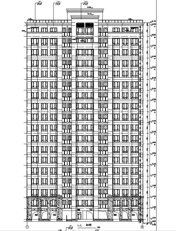 [上海]多栋住宅建筑全专业施工图(报审版)