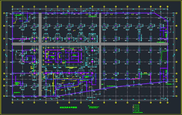 基础及地下室结构设计图纸