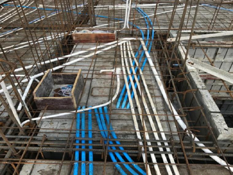 机电工程安装工艺指引铝模、钢支撑体系机电预埋(含施工详图)