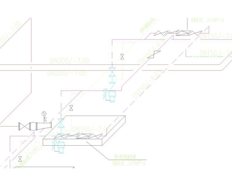 [上海]国际设计中心给排水系统图集_5