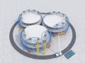 [海南]会议中心花瓣钢结构安装方案(69页)