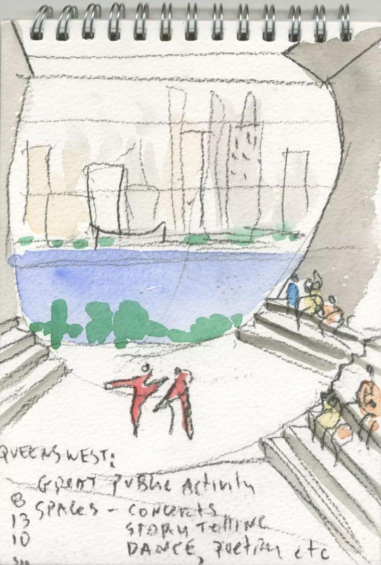 斯蒂文·霍尔在中国的首个作品展,向我们摊开了他个人的手绘本_25