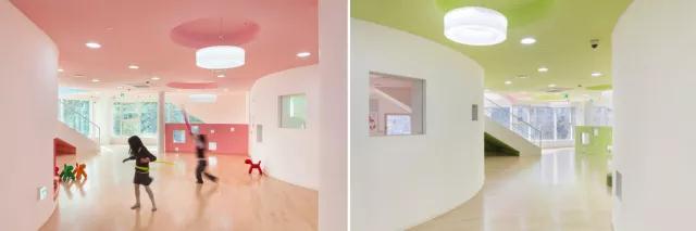 首尔幼儿园设计|空间结构与色彩搭配_7