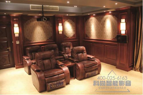 南京别墅18平方5万家庭影院设计方案