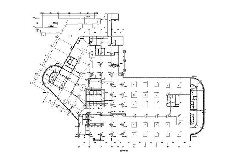 医院框剪结构人防地下室建筑结构施工图2016