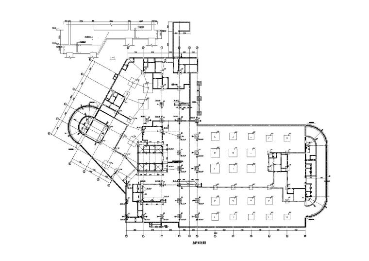 InDesign建筑排版资料下载-医院框剪结构人防地下室建筑结构施工图2016