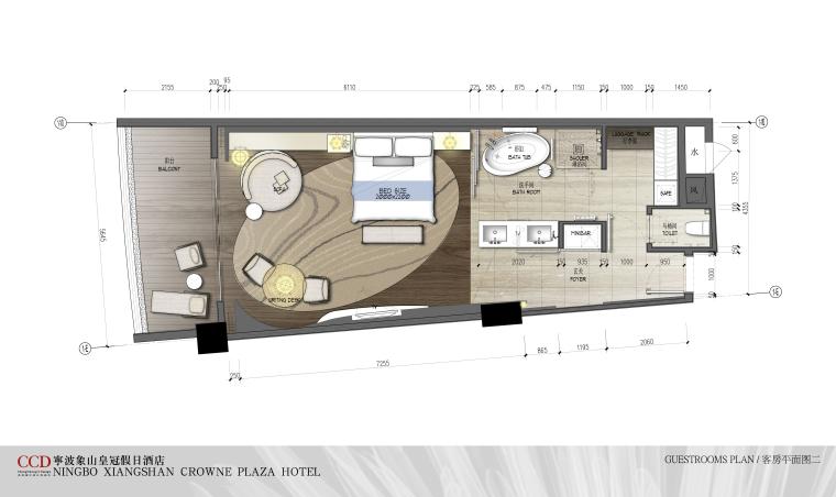 CCD--宁波象山皇冠假日酒店概念设计方案文本-19客房平面图2