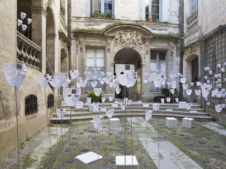 法国城市客厅装置