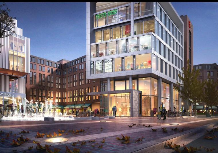 [上海]某万科现代风格居住区建筑方案文本(JPG+12套文本)