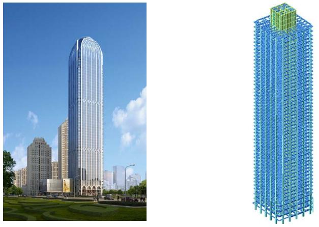 大连星海湾金融商务区XH-15地块超高层综合体结构设计