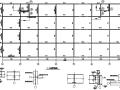 23X54m三层商业用钢框架施工图(CAD,17张)