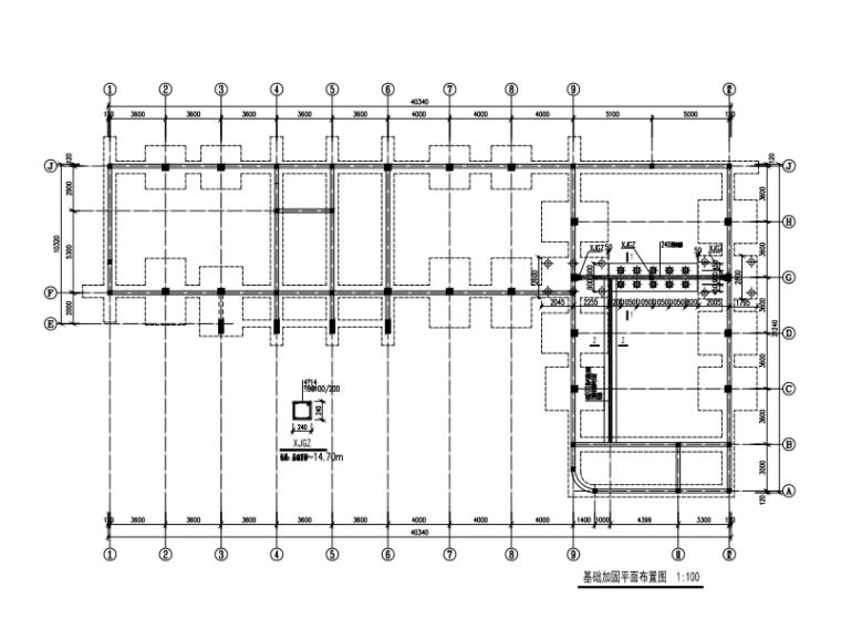 四层砌体结构初中宿舍抗震加固施工图