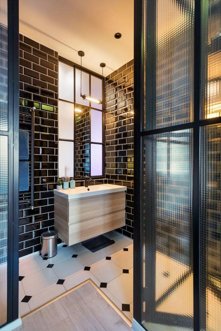 深色系墙面设计,让你家的颜值翻一倍_20