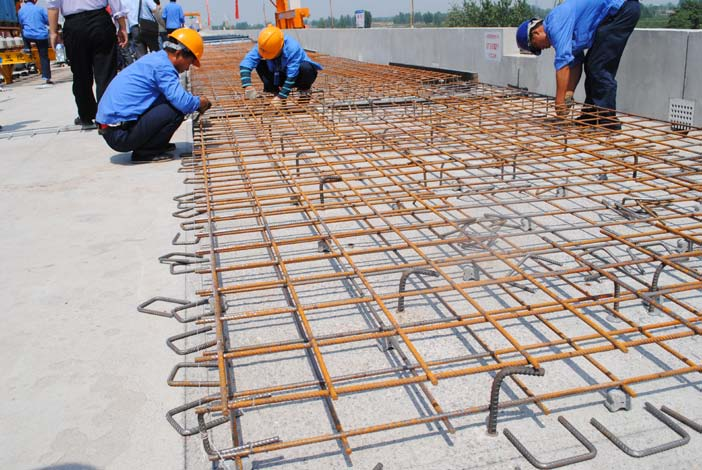 双块式无砟轨道桥梁地段底座板钢筋施工作业指导书