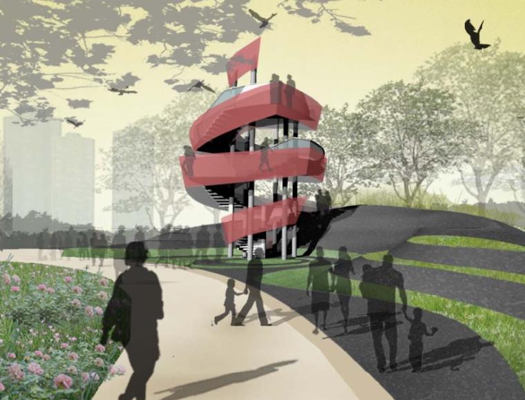 [河南] 郑州市南环公园名师园景观设计文本(包含PDF+29页)