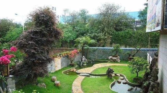 小庭院,植物就得这么搭配!