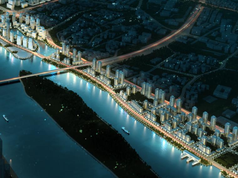 [广东]广州国际金融城城市景观规划设计方案文本(滨水)