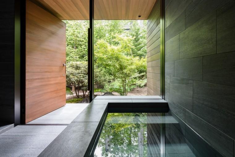 日本密林中的四叶别墅-11