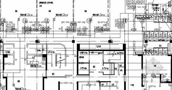 标准层水管布置图