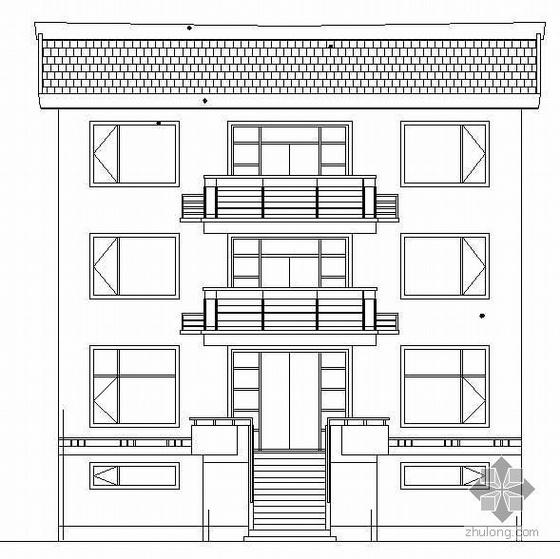 某农村三层小别墅建筑结构水电施工图