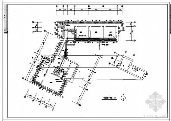 四层教学楼采暖设计图